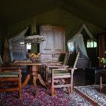 Glamping Interieur Safaritent