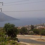 View of Kalkan from the Samira Deluxe pool