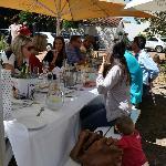 Lovely Al Fresco Lunch
