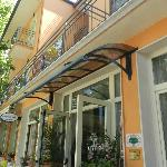 entrata principale dell'hotel