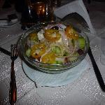 feta salad, lovely.