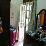 Kamer met klein balkon