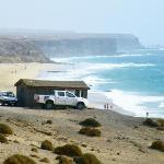 El Cotillo surf beach, looking south