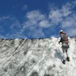 ice climbing with Arcanum