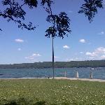 Taughannock Park at Cayuga Lake