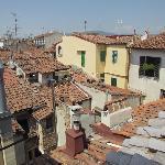 Hotel Dalì - app. Bella Vista - vista su tetti centro storico