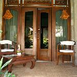 Bungalow suite verandah