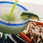 An Original Frozen Margarita and Sizzling Fajitas!