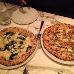 spinaci and pollo pizza