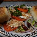 Mozzerella Caprese Salad!