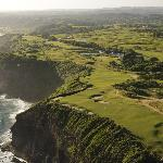 Areal shot of the Golf Course