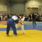Interior of the center, setup for judo