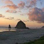 Sunset-Cannon Beach,Oregon