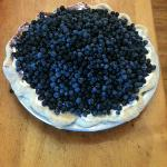 mile high blueberry pie