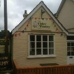 The outside of The Cider Pantey