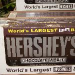 World's Largest Hershey Bar you can buy in Chocolate World