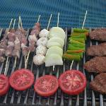 restaurant à la carte barbecue