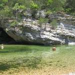Smaller Swimming Area