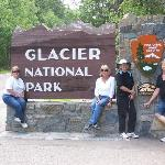 Entrance to Glacier National Park