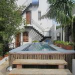 Pool at Casa Isabella. Very clean.