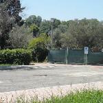 indicazioni per l'entrata provvisoria (dal marciapiede)