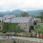 Annalong Corn Mill on the Mourne Trail, across from the restaurant