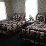one of the rooms. cute