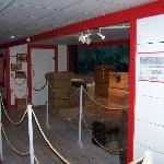 Riverboat model in the museum
