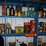 Items in their general store display