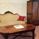 Sitting area Bridal Suite
