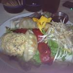 Special Salad with organic vegetables