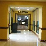 Entrance to casino