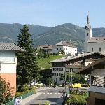View from the Fuchsbau balcony