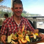 The awesome sea food platter