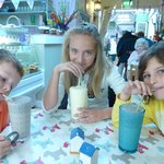 Yummy Milkshakes at Penny Black