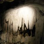 drapées et non stalactites