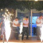 Tyrkisk aften, hvor hotelpersonalet underholder med dans