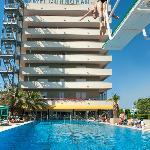 Hotel lato piscina