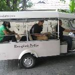 This is the Tuk Tuk we used every morning & evening!