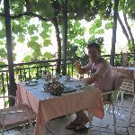 The restaurant at Vila Drago