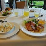 朝ご飯も、美味しい、上品