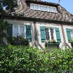 window boxes & charming exterior
