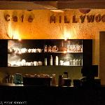 Cafe Hillywood coffee bar on the ground floor