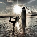 Surfing and Yoga, what an awesome vacation