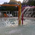 Kids splash area