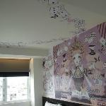 有彩繪的房