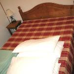 lit de la chambre