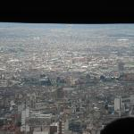 """City view from the """"Teleferico"""""""