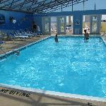 Nice indoor pool.
