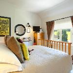 Beechborough B&B - The Sports Room view over the Elham Valley